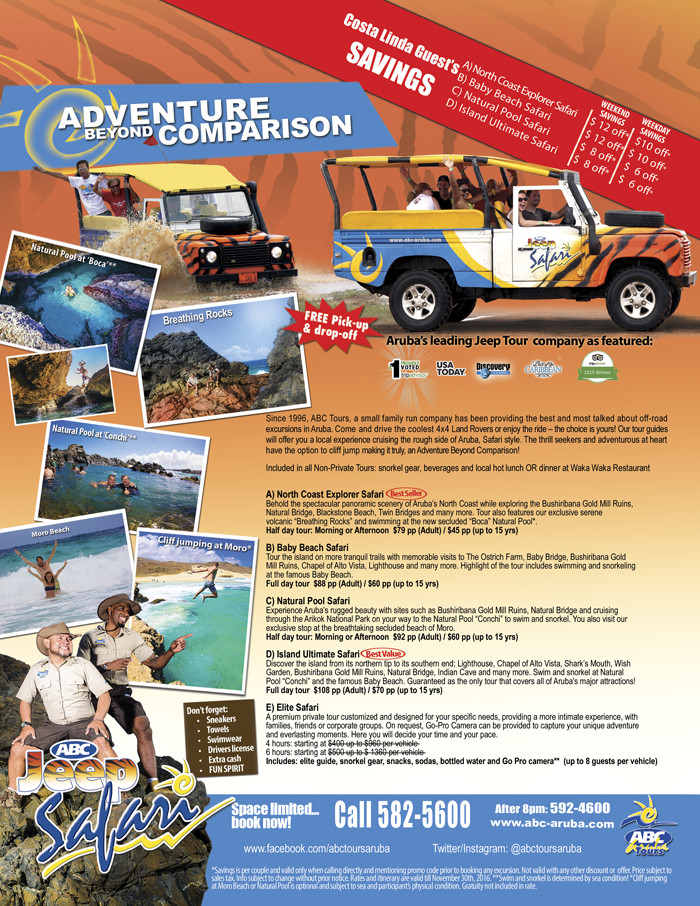 ABC Tours in Aruba