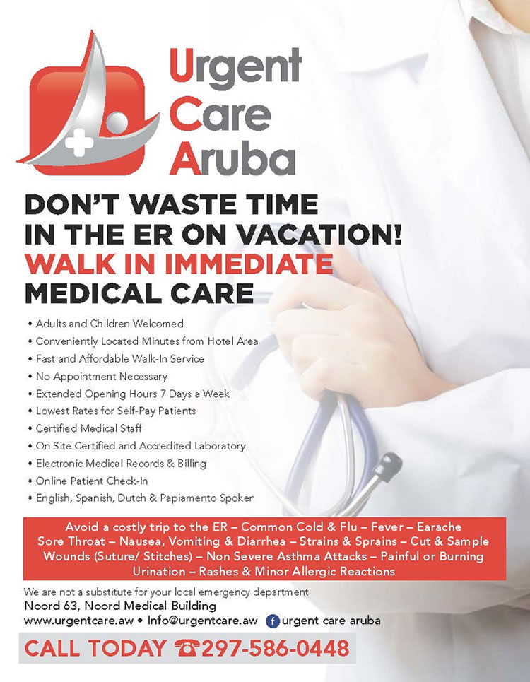 Urgent Care Aruba - Immediate Medical Care 24/7 at Aruba
