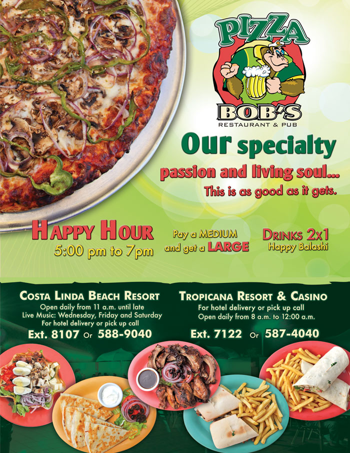 Pizza Bob's Restaurant and Pub